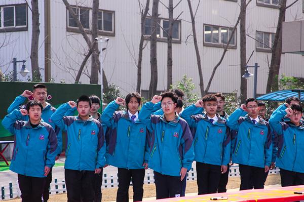 南京新华隆重举行校园文明礼貌月暨社团文化节开幕仪式