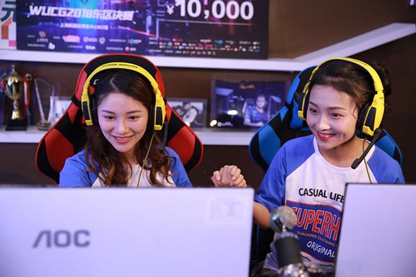 电子竞技有女生学习吗?