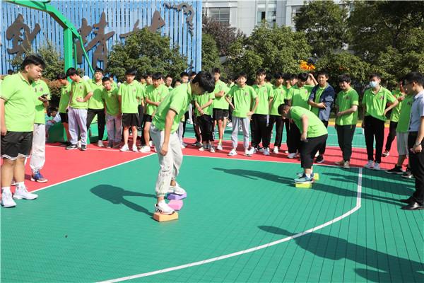 南京新华趣味运动会 燃烧团队的卡路里
