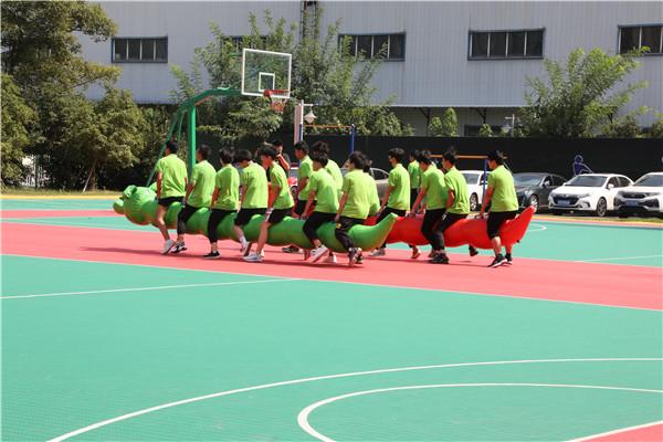 南京新华趣味运动会|燃烧团队的卡路里