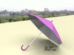 3D作品《伞》曹填华