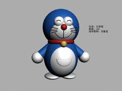 3D作品《咖啡猫》石荣瑞