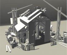 3D建模《房子》张博