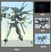 机器人maya设计作品