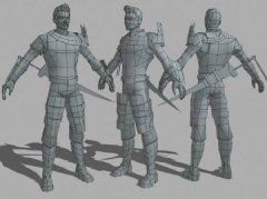 3维人物设计