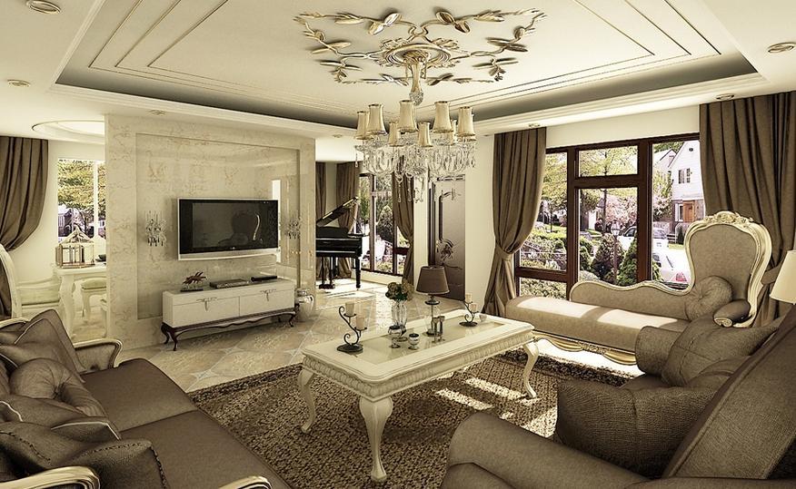 室内装潢设计-客厅