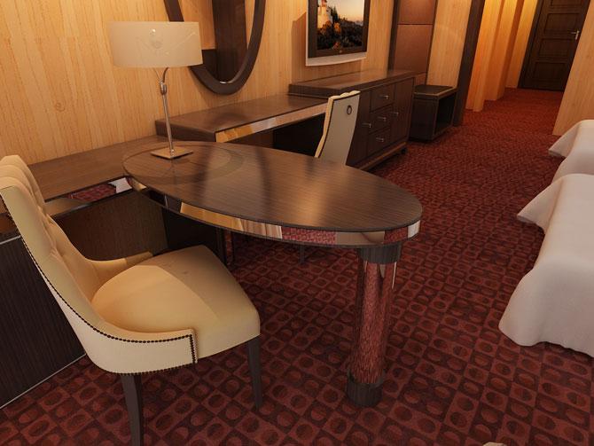 南京新华学生作品-酒店房间