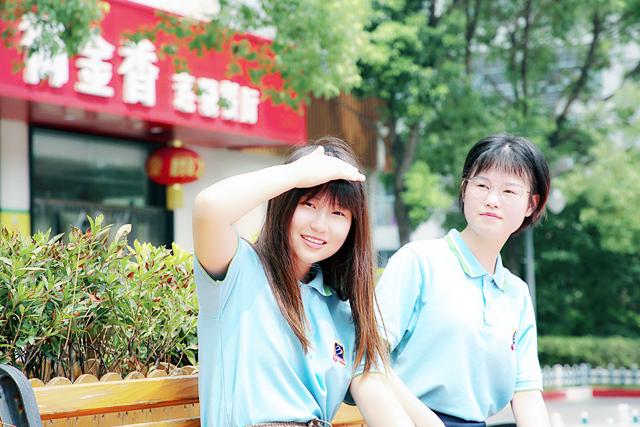【新生故事】夏日里悄然绽放的新华姐妹花